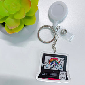 Retractable ID Reel