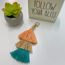 Load image into Gallery viewer, Single Tassel Key Chain