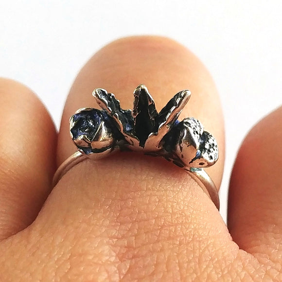 Discontinued 50% OFF Succulent Plant Bundle Ring Sterling Silver