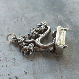 Bonsai Tree Necklace Sterling Silver