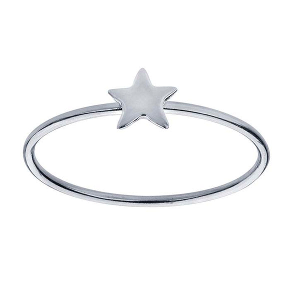Discontinued 50% OFF Star Ring Sterling Silver not handmade