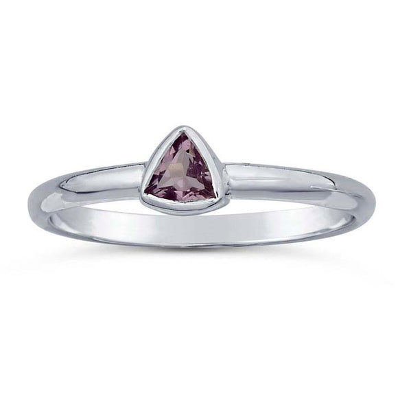 Discontinued 50% OFF Amethyst Gemstone Ring not handmade