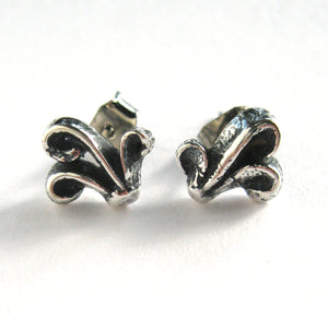 Filigree Post Earrings Sterling Silver
