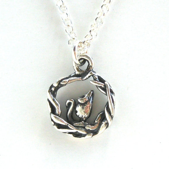 Mouse Burrow Necklace
