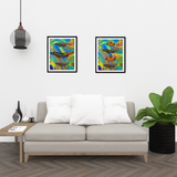 Butterfly Photography Print Set | Set of 2 Wall Art at 30% off