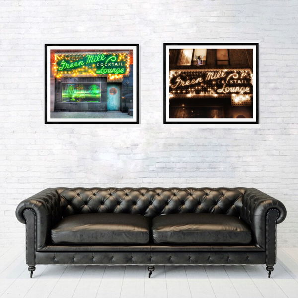 Chicago Photography Print Set | Set of 2 Wall Art at 30% off