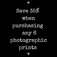 Custom Print Set | Choose 6 Photos Save 35 % | Wall Collage | Wall Art
