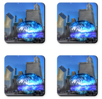 Chicago Bean Coaster Sets