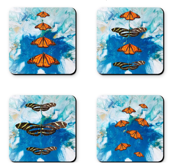 Butterfly Coaster Sets