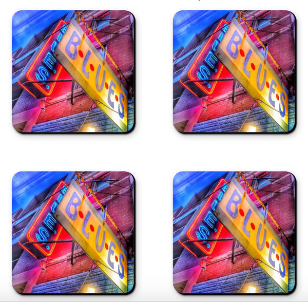 Chicago Blues Coaster Sets