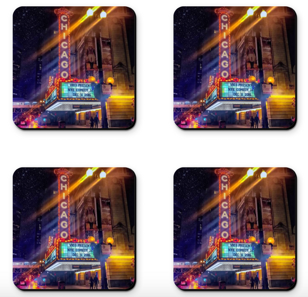 Chicago Theater Coaster Sets