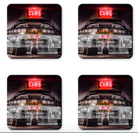 Cubs Bleachers Coaster Sets