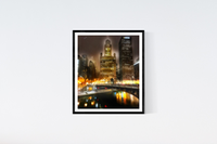Chicago River Print Set | Set of 4 Wall Art at 30% off