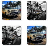 Miami Car Coasters