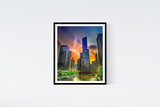 Chicago Trump Tower Print Set | Set of 4 Wall Art at 30% off