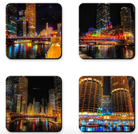 Chicago River Walk Coaster Sets