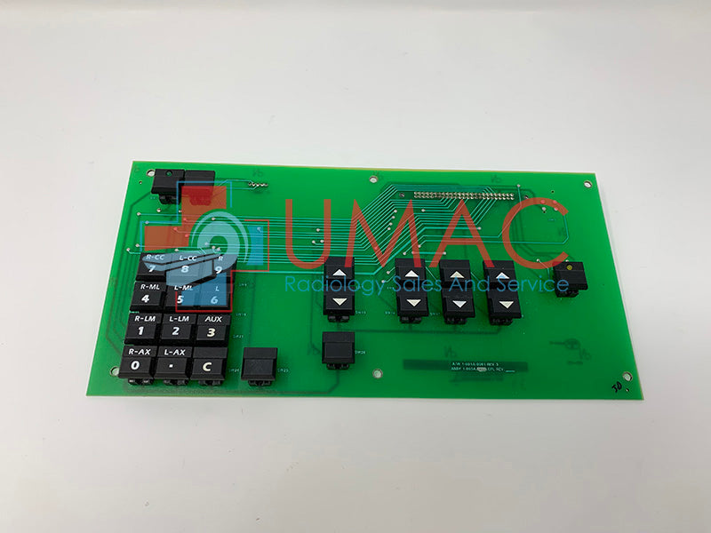 Hologic Lorad M-IV 1-003-0250 Keyboard Board