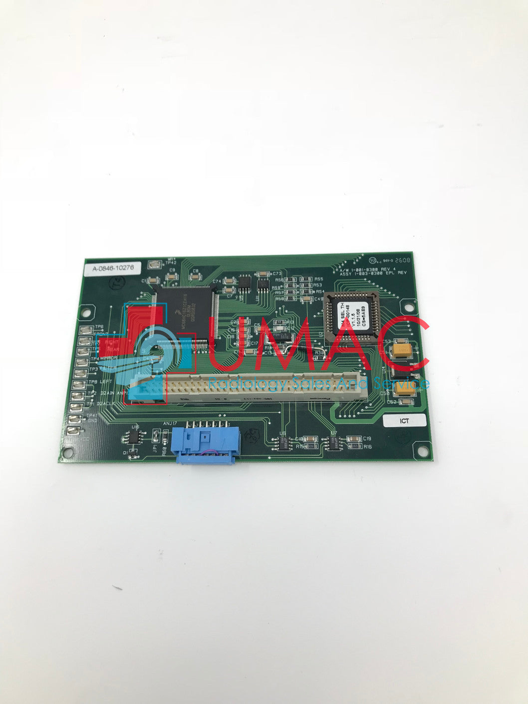 Hologic Selenia Mammography 1-003-0300 Tube Head Micro-processor Board