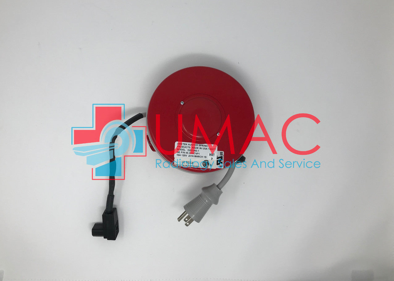 GE AMX 4+ X-Ray 46303474P1 Power Cord Reel