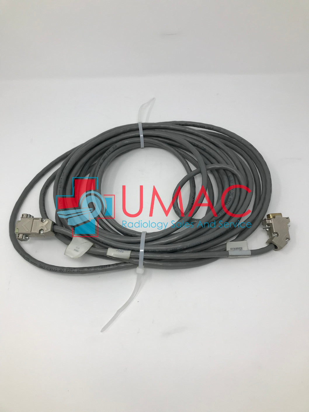 GE Lunar Prodigy Bone Density LNR-5937 Serial I/O Cable