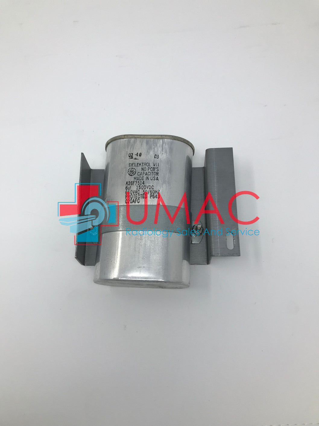 Hologic Dimensions Mammography A26F7504 GE Dielektrol VII Capacitor