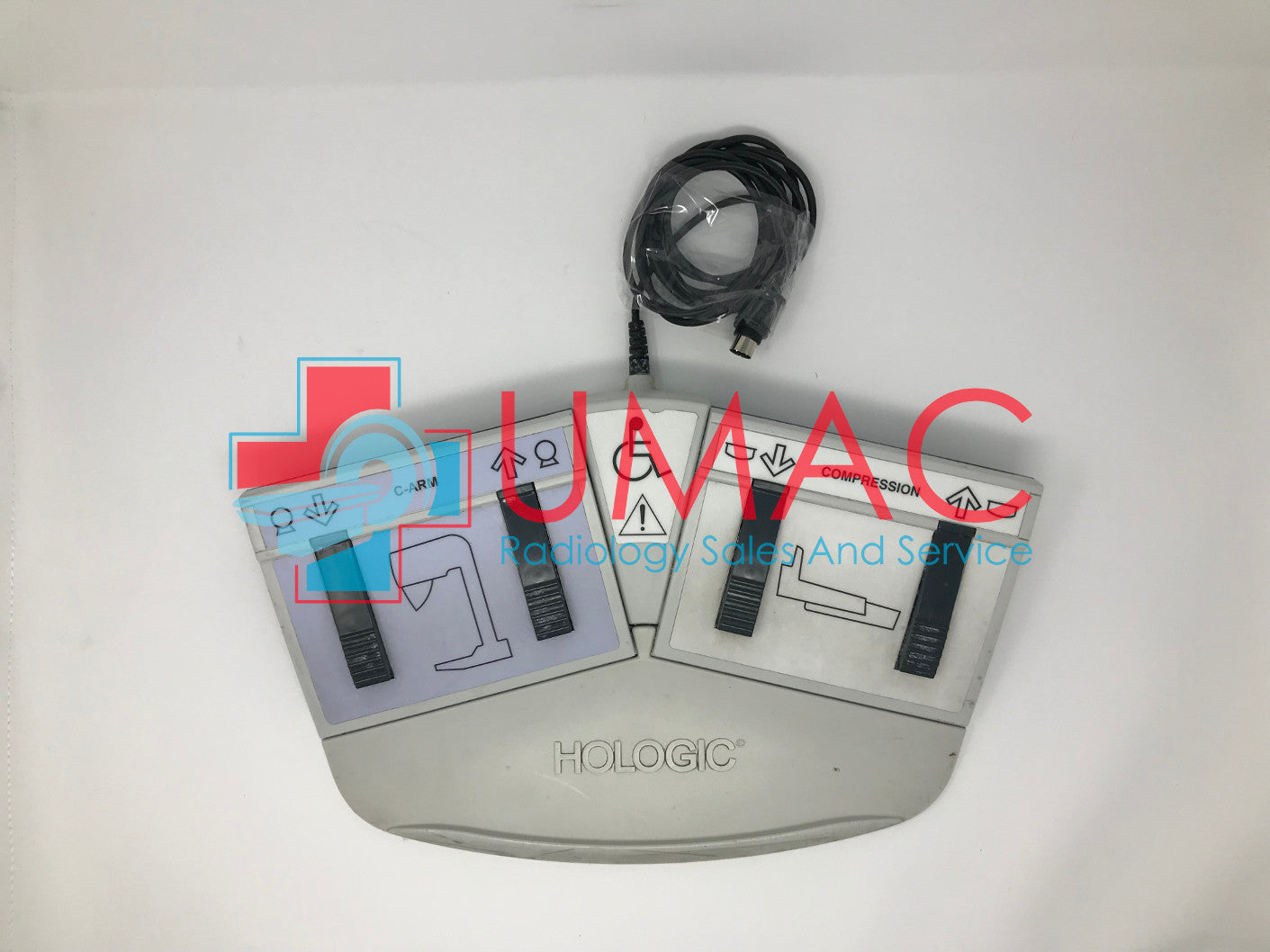 Hologic Dimensions Mammography FAB-03047 Gantry Footswitch Plate