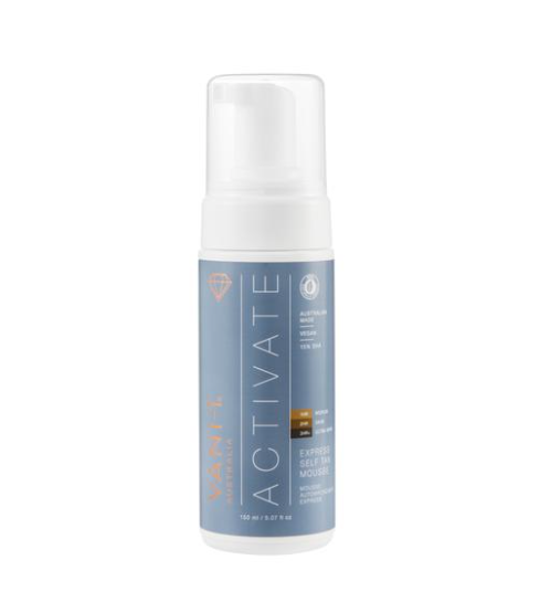 Vani-T Activate Express Self Tan Mousse - 150mL