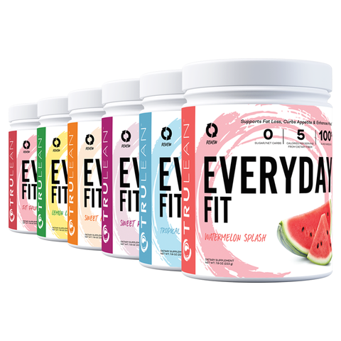 six pack of everyday fit water flavor supplement