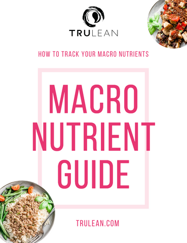 cover of macro nutrient guide
