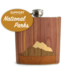 National Park Hip Flask - Pike Creek Boutique