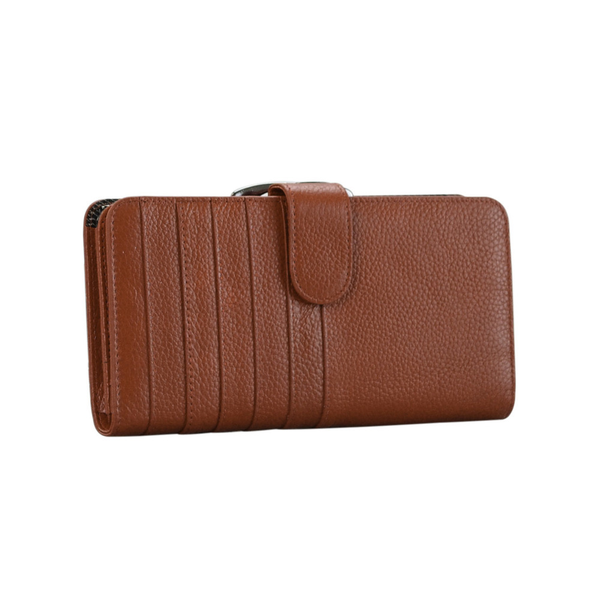 Lady's Genuine Red Leather Wallet