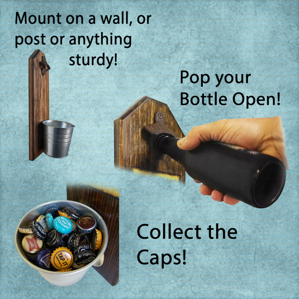 Navy Drink Till You Sink Bottle Opener - These well-made, handcrafted old fashion bottle openers make the perfect gift for home brewers, local craft beer makers, mini bars, house warming or retirements, Groomsmen Gifts, or anyone who opens bottles! Just pop the tops and let them fall - Pike Creek Boutique