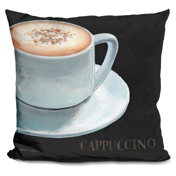 Dark Roast Cappuccino IV Pillow - Pike Creek Boutique