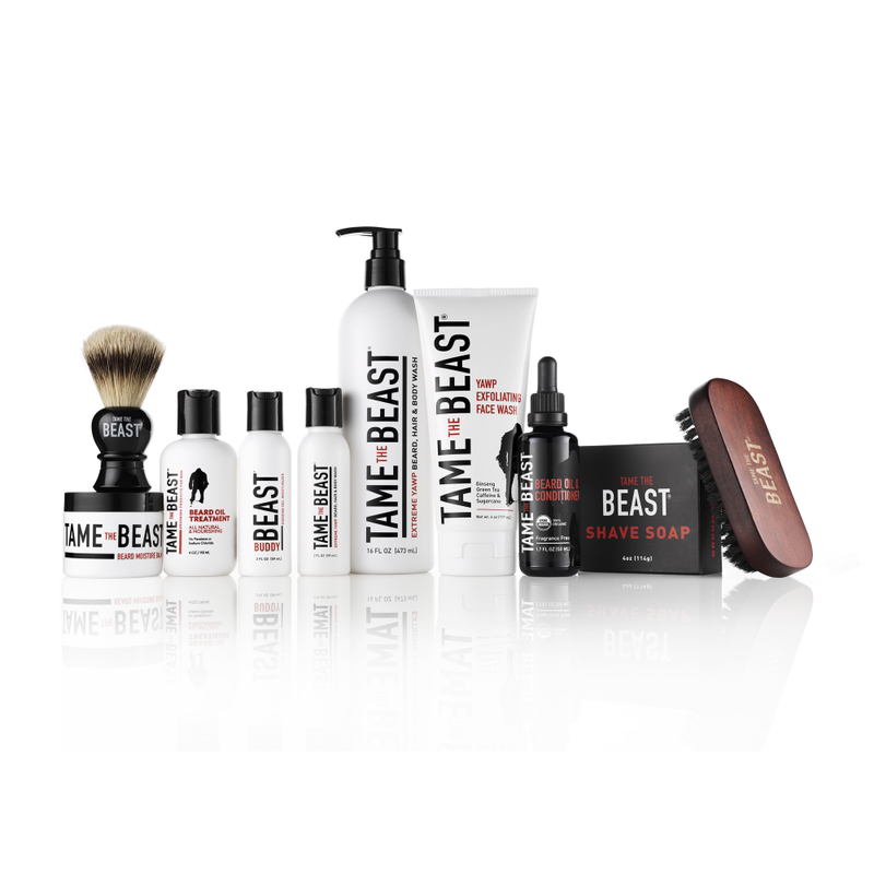 Beast Box - Beast Box™ is the ultimate gift-able collection of men's grooming products. Each kit features Tame the Beast® hair, body, beard, skin and shaving favorites in a stylish box of beastliness at yawp-inducing discounts off the regular price - Pike Creek Boutique