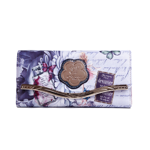 The Dreamerz Wallet is a vintage Hollywood retro graphic design piece made for the dreamers of the world, those who refuse to settle for less than they deserve - Pike Creek Boutique