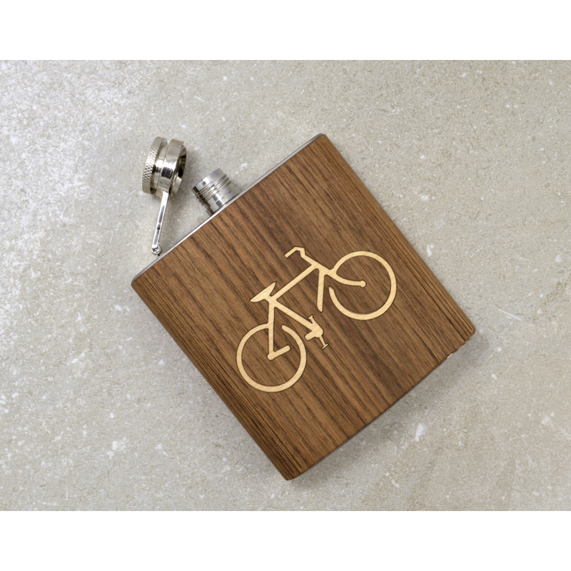 """Bicycle"" Hip Flask - Pike Creek Boutique"