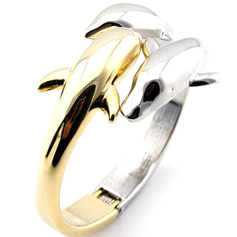 Three Dolphin Kiss Bangle - Pike Creek Boutique