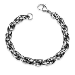Double Chained Stainless Steel Bracelet - Pike Creek Boutique