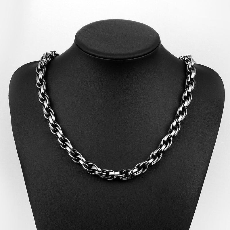 Classic London Chain Stainless Steel Neckalce - Pike Creek Boutique
