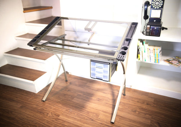 Art Studio Adjustable Table Station Drafting Table Art Drawing Adjustable Craft Table Station - Pike Creek Boutique