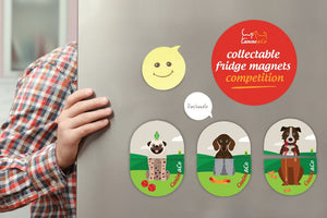 COMPETITION TIME - Collectable Fridge Magnets FREE with every order