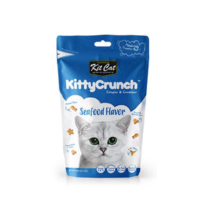 Kit Cat Kitty Crunch Seafood Flavour