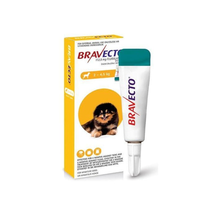 Bravecto Spot-On Tick & Flea Treatment for Dogs