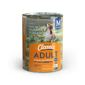Montego Classic Adult Dog Wet Food - Beef in Gravy