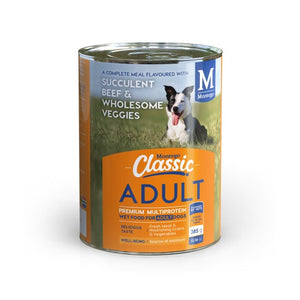 Montego Classic Adult Dog Wet Food - Beef & Veggies