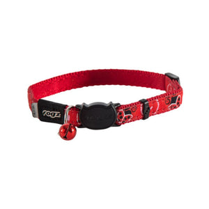 Rogz Catz FancyCat Collar - Red Ladybird