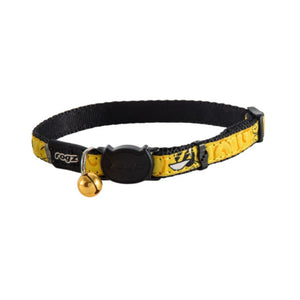 Rogz Catz FancyCat Collar - Yellow Bumblebee