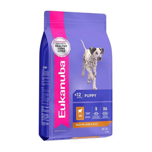 Eukanuba Puppy Small & Medium Breed Lamb & Rice