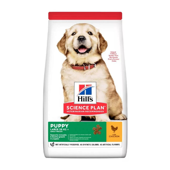 Hill's Science Plan Canine Puppy Large Breed Chicken Dog Food