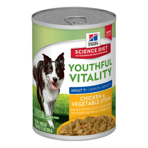 Science Plan Canine Youthful Vitality Chicken & Vegetable Stew
